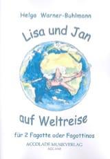 Lisa und Jan auf Weltreise - Helga Warner-Buhlmann - laflutedepan.com
