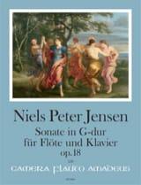 Sonate en Sol Majeur op. 18 Niels Peter Jensen laflutedepan.com