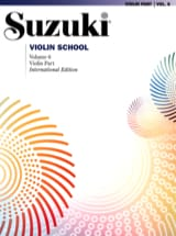 Violin School Vol.6 - Violin Part Suzuki Partition laflutedepan.com