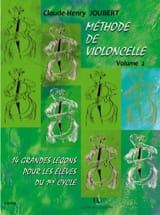 Claude-Henry Joubert - Cello Method - Volume 2 - Sheet Music - di-arezzo.com