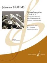 Danses hongroises n°1 et n°5 BRAHMS Partition laflutedepan.com