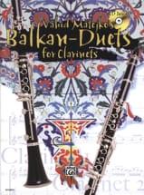 Balkan Duets for Clarinets Vahid Matejko Partition laflutedepan.com