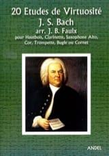 Johann Sebastian Bach - 20 Etudes de Virtuosité - Partition - di-arezzo.fr