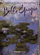 Belle Époque Partition Flûte traversière - laflutedepan.com