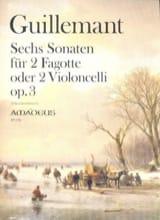 6 Sonaten, opus 3 - Benoit Guillemant - Partition - laflutedepan.com