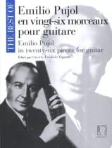 Emilio Pujol en Vingt-Six Morceaux pour Guitare laflutedepan.com