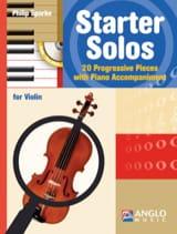 Starter Solos - Violon Philip Sparke Partition laflutedepan.com