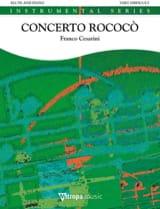 Concerto Rococo Franco Cesarini Partition laflutedepan.com