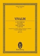 Antonio Vivaldi - Die vier Jahreszeiten, op. 8/4 - Partition - di-arezzo.fr