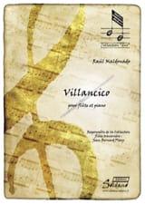 Villancico - Raul Maldonado - Partition - laflutedepan.com