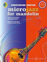 Microjazz for Mandolin Christopher Norton Partition laflutedepan.com