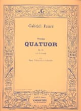Gabriel Fauré - Quartet n ° 1 op. 15 C minor - Parts - Sheet Music - di-arezzo.co.uk