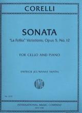 CORELLI - Sonata La Folia Variations - Sheet Music - di-arezzo.com