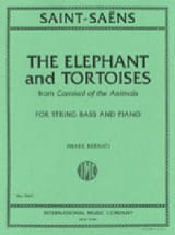 The Elephant and Tortoises SAINT-SAËNS Partition laflutedepan