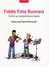 Fiddle Time Runners - Violon accompaniment book laflutedepan.com