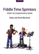Fiddle Time Sprinters - Violon accompaniment book - laflutedepan.com