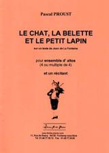 le Chat, la Belette et le petit Lapin Pascal Proust laflutedepan