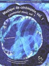 - Musique de Cérémonie Volume 1 - Partition - di-arezzo.fr