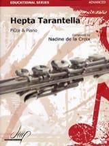 Hepta Tarantella la Croix Nadine De Partition laflutedepan.com