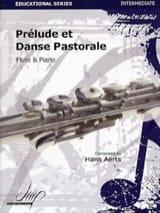 Prélude et Danse Pastorale Hans Aerts Partition laflutedepan.com