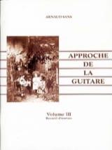 L' Approche de la guitare volume 3 - Arnaud Sans - laflutedepan.com
