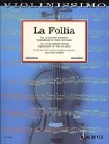 La Follia Partition Violon - laflutedepan.com
