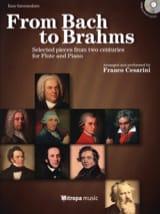 From Bach to Brahms Partition Flûte traversière - laflutedepan.com