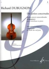 Richard Dubugnon - Dix petites Concertudes, Volume 1 - Partition - di-arezzo.fr