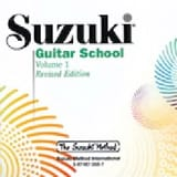 Suzuki Guitar School Volume 1 (Revised) - CD suzuki laflutedepan.com