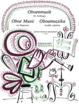 Oboe music for beginners Partition Hautbois - laflutedepan.com