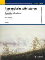 Miniatures Romantiques, Volume 2 Partition laflutedepan.com