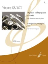 Vincent Guyot - 10 graduated teaching pieces - Volume 1 - Sheet Music - di-arezzo.co.uk