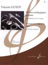 Vincent Guyot - 10 pièces pédagogiques graduées - Volume 2 - Partition - di-arezzo.fr