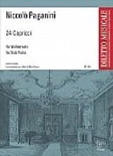Niccolò Paganini - 24 Capricci - Partition - di-arezzo.fr