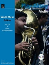 World Music - Balkan - Violon Traditionnels Partition laflutedepan.com