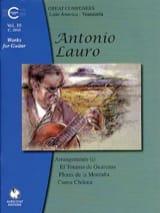 Antonio Lauro - Oeuvres pour Guitare, Volume 10 - Partition - di-arezzo.fr