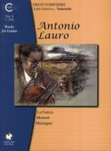 Oeuvres pour Guitare, Volume 8 Antonio Lauro laflutedepan.com