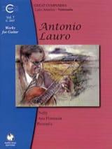 Antonio Lauro - Oeuvres pour Guitare, Volume 7 - Partition - di-arezzo.fr