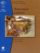 Antonio Lauro - Oeuvres pour Guitare, Volume 5 - Partition - di-arezzo.fr