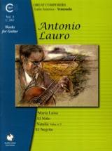 Antonio Lauro - Oeuvres pour Guitare, Volume 3 - Partition - di-arezzo.fr