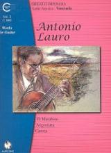 Antonio Lauro - Oeuvres pour Guitare, Volume 2 - Partition - di-arezzo.fr