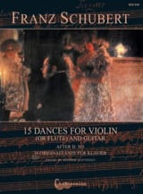 15 Danses Originales - Violon et Guitare SCHUBERT laflutedepan.com