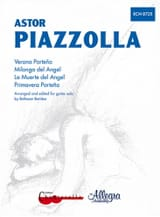 Astor Piazzolla - 4 Pièces pour guitare - Partition - di-arezzo.fr