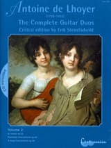 Antoine de Lhoyer - The Complete Guitar Duos, Volume 2 - Partition - di-arezzo.fr