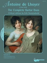 Antoine de Lhoyer - The Complete Guitar Duos, Volume 3 - Partition - di-arezzo.fr