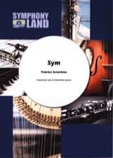 Sym Patrice Sciortino Partition Clarinette - laflutedepan.com