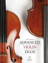 Advanced Violin Duos - Partition - Violon - laflutedepan.com