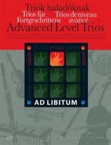 Andras Soos - Trios de Niveau Avancés - Partition - di-arezzo.fr