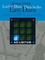 Easy Duos Andras Soos Partition Violon - laflutedepan.com
