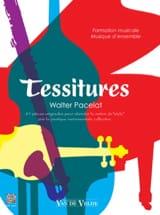 Tessitures - Walter Pacelat - Partition - Solfèges - laflutedepan.com